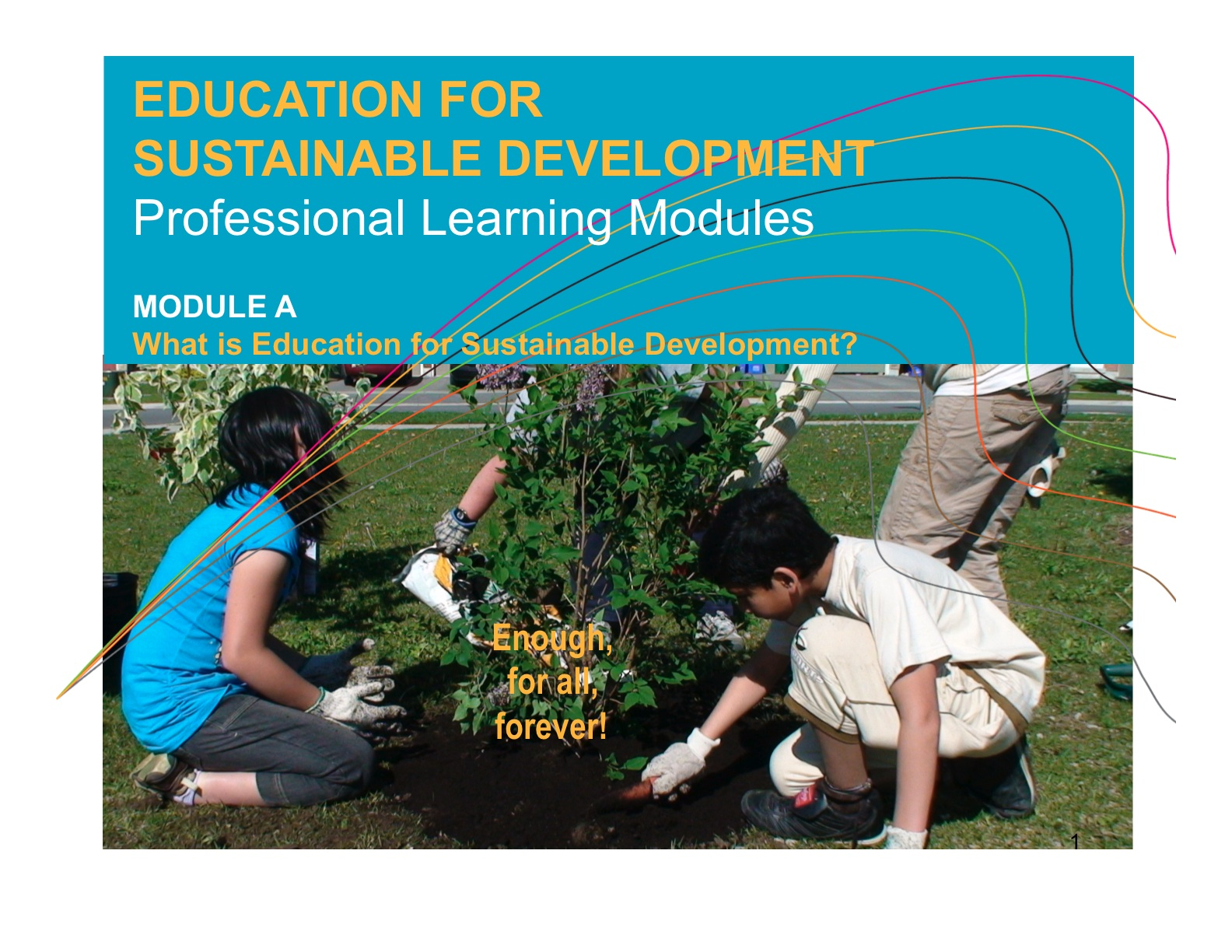 Learning For A Sustainable Future Education For Sustainable
